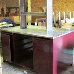Stainless Steel Top Work Bench