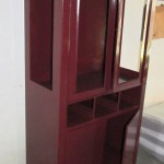 Tall Medical Cabinet on Wheels
