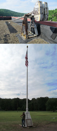 Flagpole Before & After