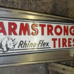 Amaral Armstrong Tires Sign