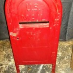 Red US Mail Box
