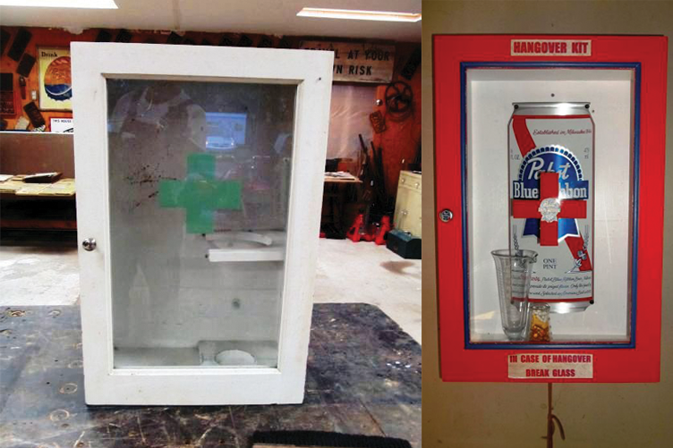 Pabst Before & After