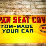 Mopar Seat Covers Sign