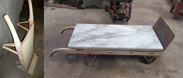 Vermont Marble Factory Coffee Tableu2026